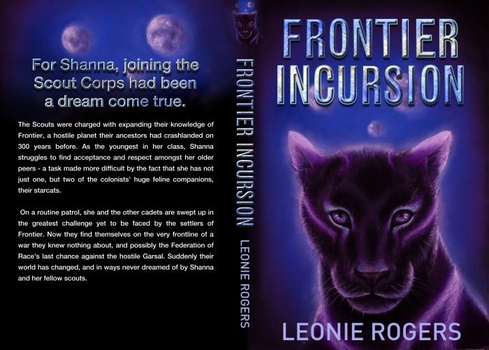 Frontier Incursion to be Published in Paperback March 2014!