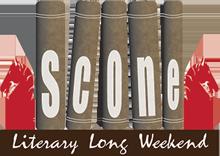 Scone lit fest logo